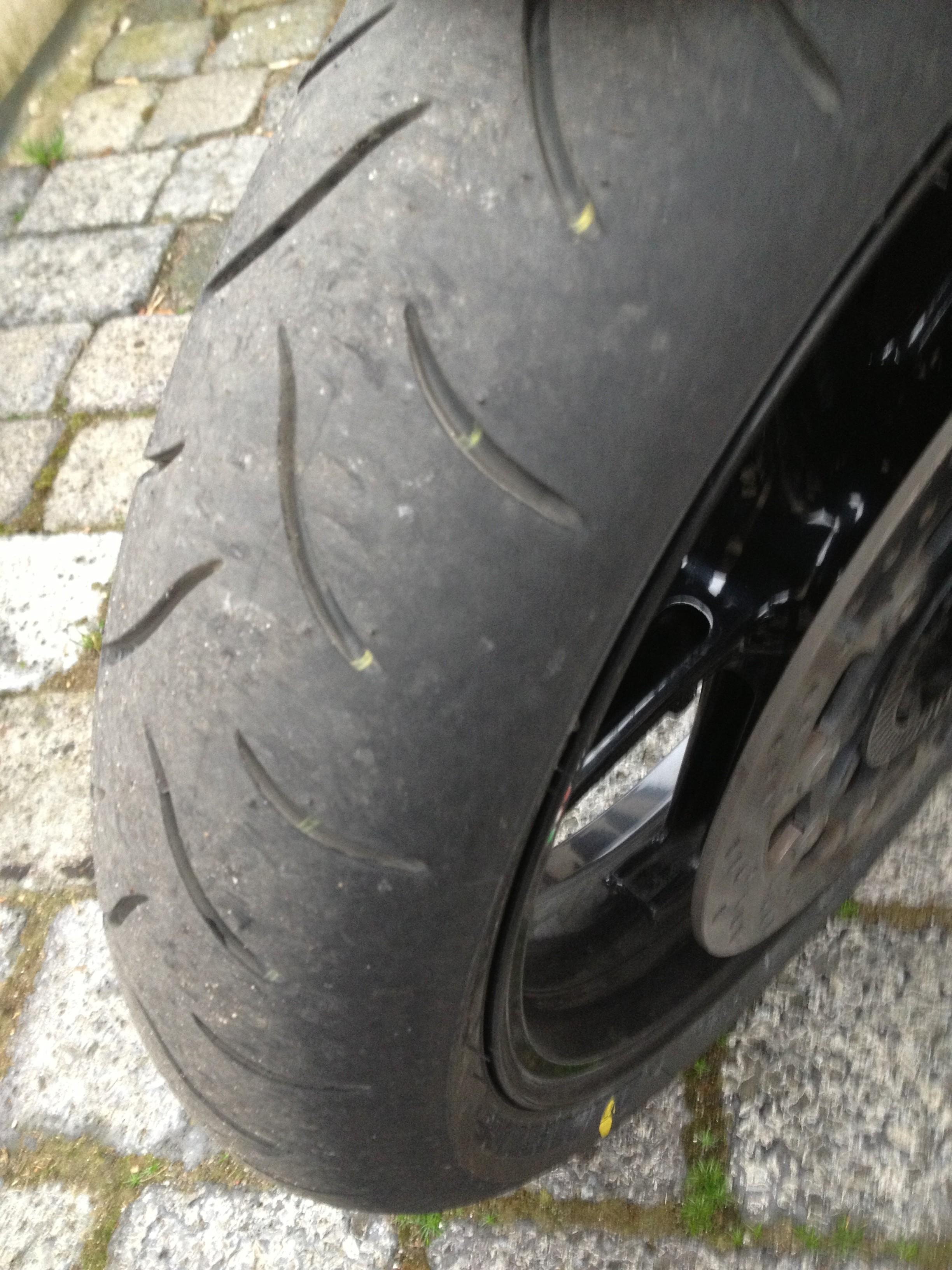 Reifen der SMT – Bridgestone BT016Pro