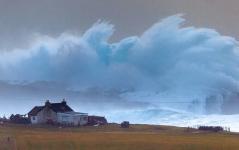 Das ist kein Photoshop-Gedöns: Die Riesenwelle von Shetland