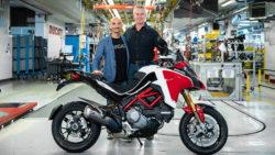 100.000ste Ducati Multistrada gebaut
