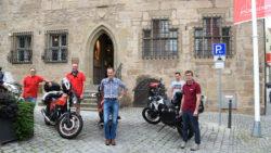 Dinkelsbühl schafft Motorradparkplätze | Tourenfahrer